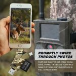 SD Card Reader Trail Camera Viewer – MOSPRO Game Camera Viewer to View Hunting Photos & Videos or Any Wildlife Game Cam On Smart Phones, Tablets & PC, Camouflage