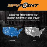 SPYPOINT Link-S-V Solar Cellular Trail Camera, 4G/LTE, 12MP HD Video, Patented Solar Panel, Blur Reduction&IR Boost, 0.07s Trigger, 100′ Detect/Flash ((1) LINK-S-V)
