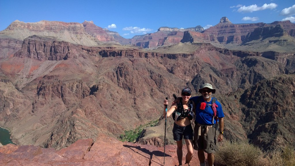 Me and my dad in the Grand Canyon!