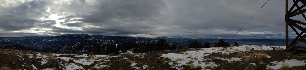 Panorama from the top - beautiful!!