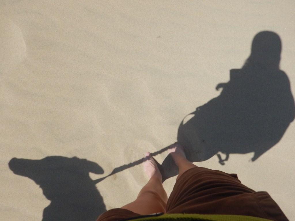 Having fun at the dunes!