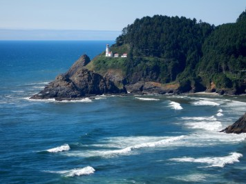The Haceta Head Lighthouse