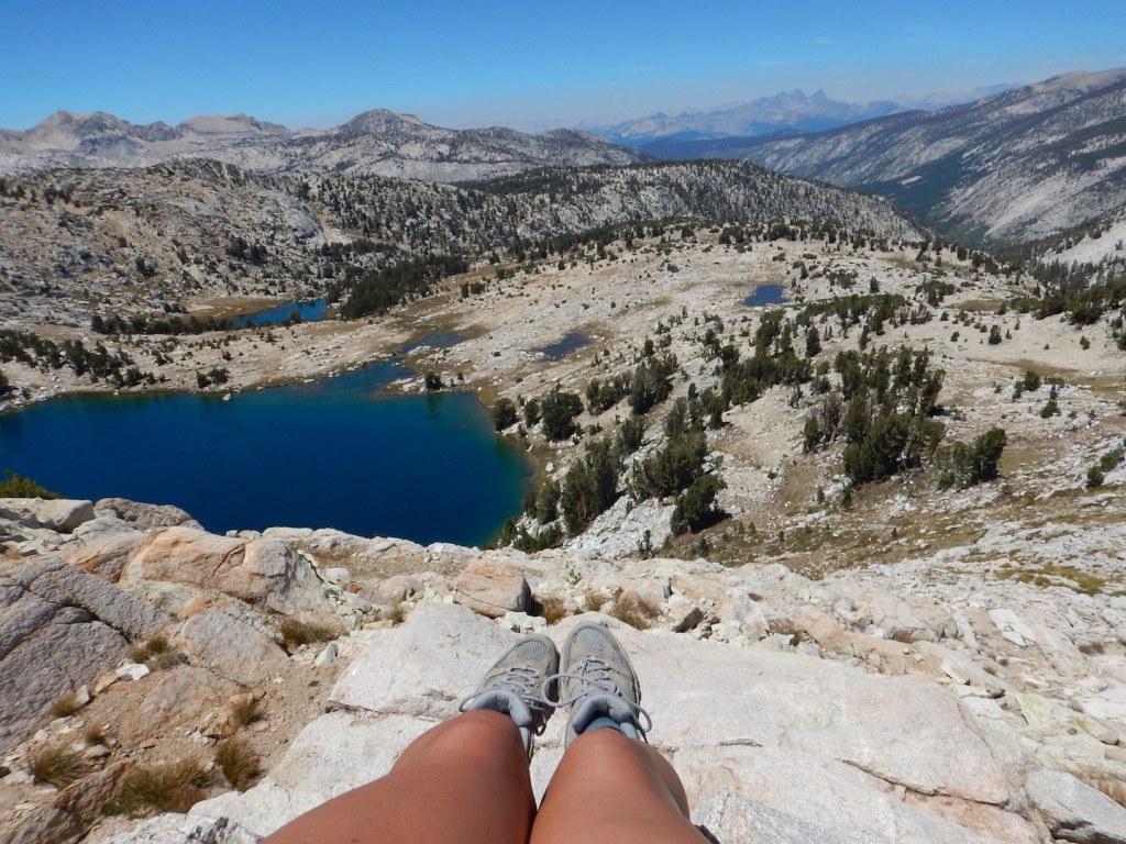 Contemplating life at Silver Pass