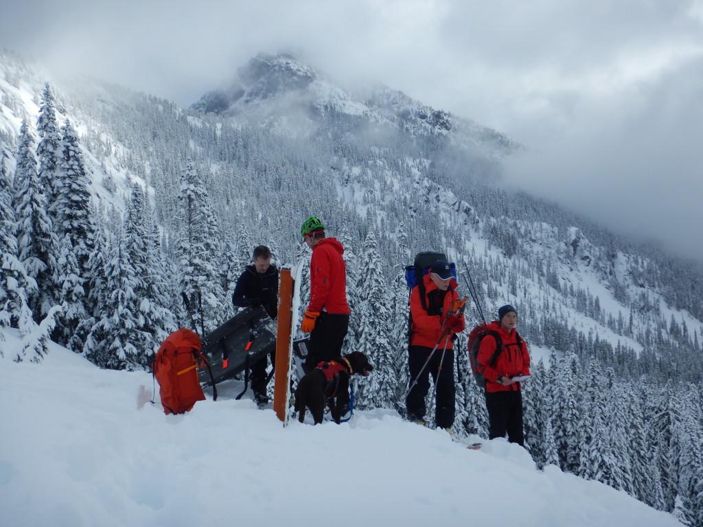 These are some pretty capable, skilled and dedicated men and women! (And avalanche dog too!)