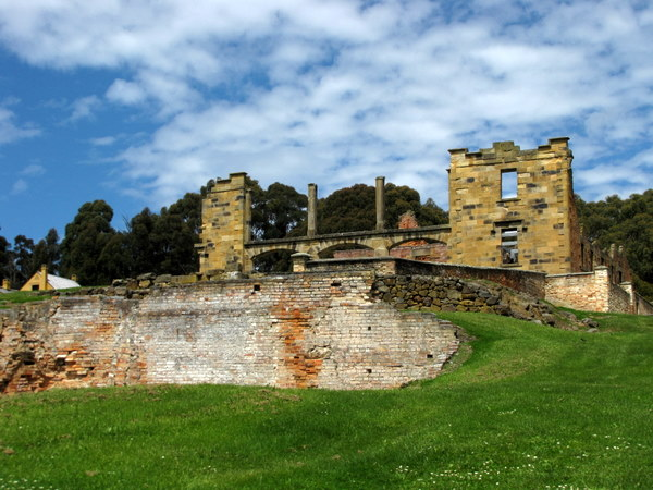 The grounds of Port Arthur