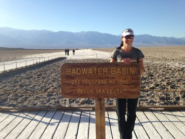 Badwater Basin - lowest point in North America at 282' below sea level