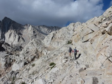 Heading up the Whitney trail - what amazing views!!