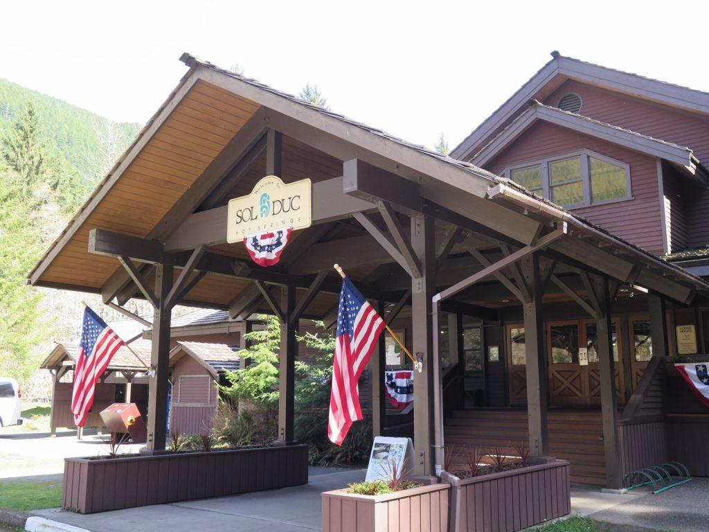 Sol Duc's main resort lodge