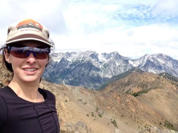 Selfie on the summit of Earl Peak!