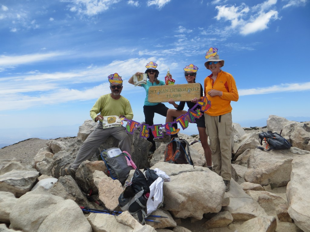 We did it!!! San Gorgonio makes the 3 Peak Challenge complete! Now it was time to get a bonus peak for Herman!