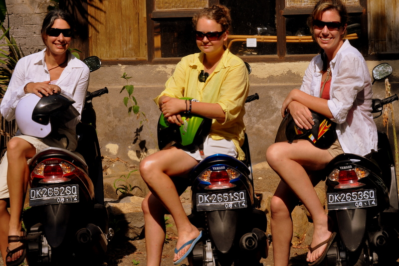 Our Bali scooter gang