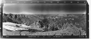 1935. Southwest panorama. Photo: USFS