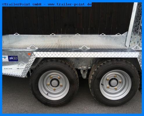 Ifor Williams - GH1054 Rampe 303x163cm 3,5t. - Lagerfahrzeug