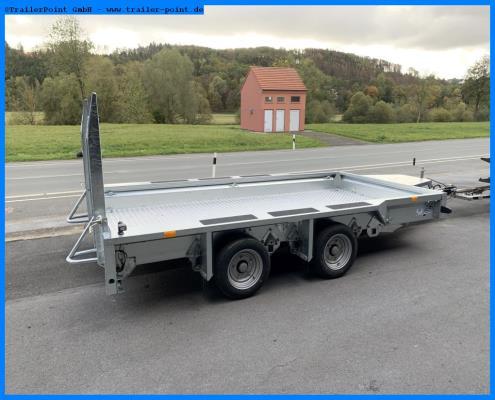 Ifor Williams - GX126 180x366cm - 3.5t. - Lagerfahrzeug