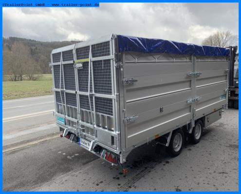 Andere - TWIN TRAILER TT35-40 TRANSPORTER + KIPPER IN 1 - Lagerfahrzeug