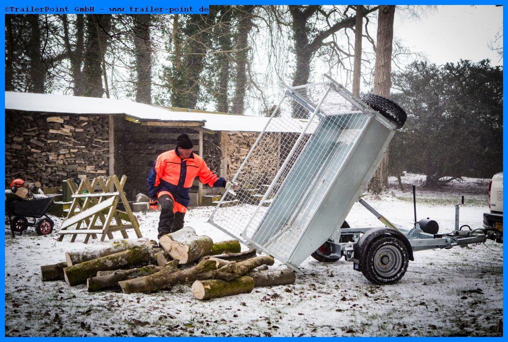 TT2012 Winter, abgekipptes Holz