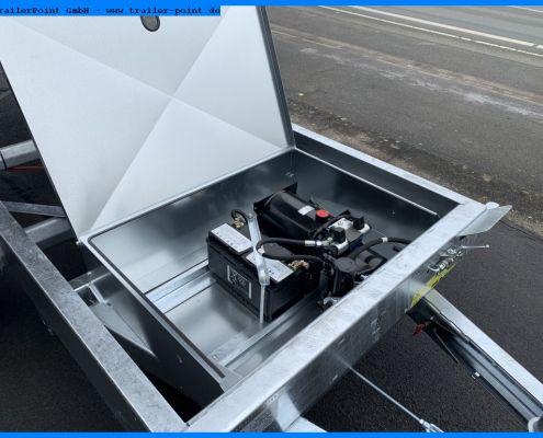 Technikbox am Twin Trailer TT35-35