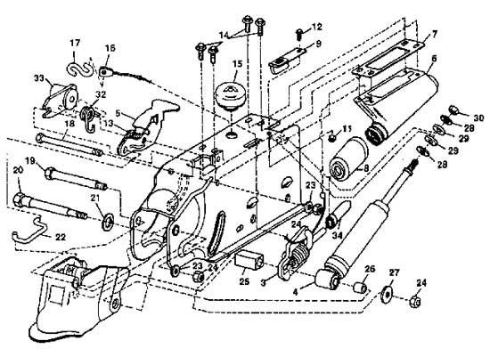 Atwood Brake Actuator Installation Diagram, Replacement