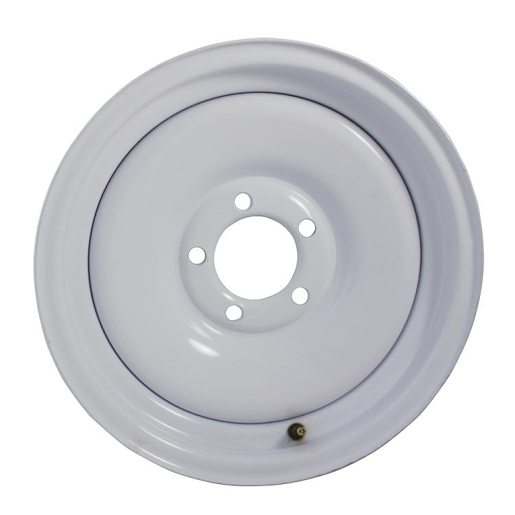 White Steel Wheels