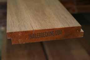 Buy Trailer Decking Apitong Shiplap  Rough Boards Truck