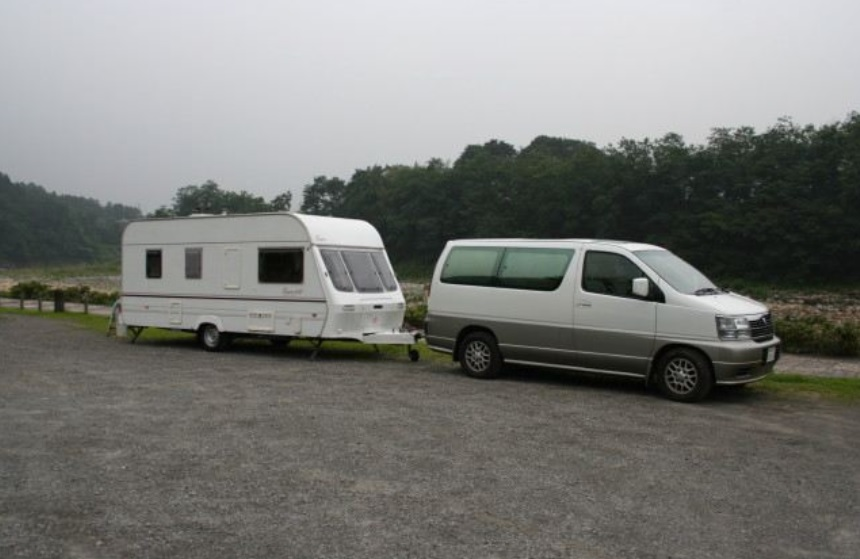 trailer camping trailer camp by Disco-4@東京