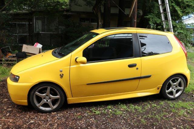 FIAT Punto Abarth 5 speed MT by Disco-4@東京