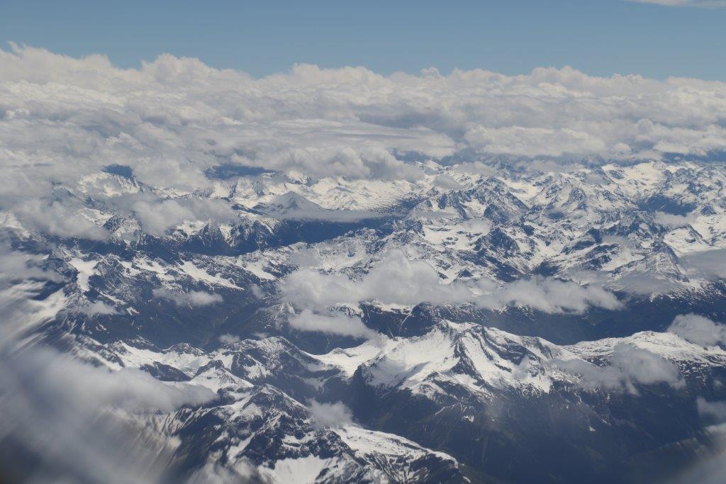 空撮, ヨーロッパ, 雪山, aerial photo, Europe, mountains,