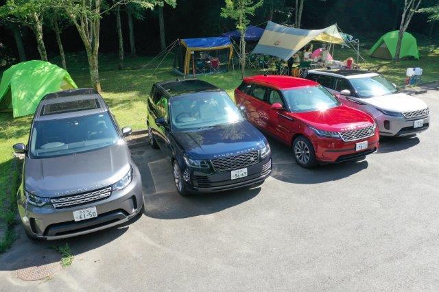 ジャガー, jaguar, land rover, ランドローバー, ジャガー・ランドローバー三島, レンジローバー, range rover, 早川キャンプ場,