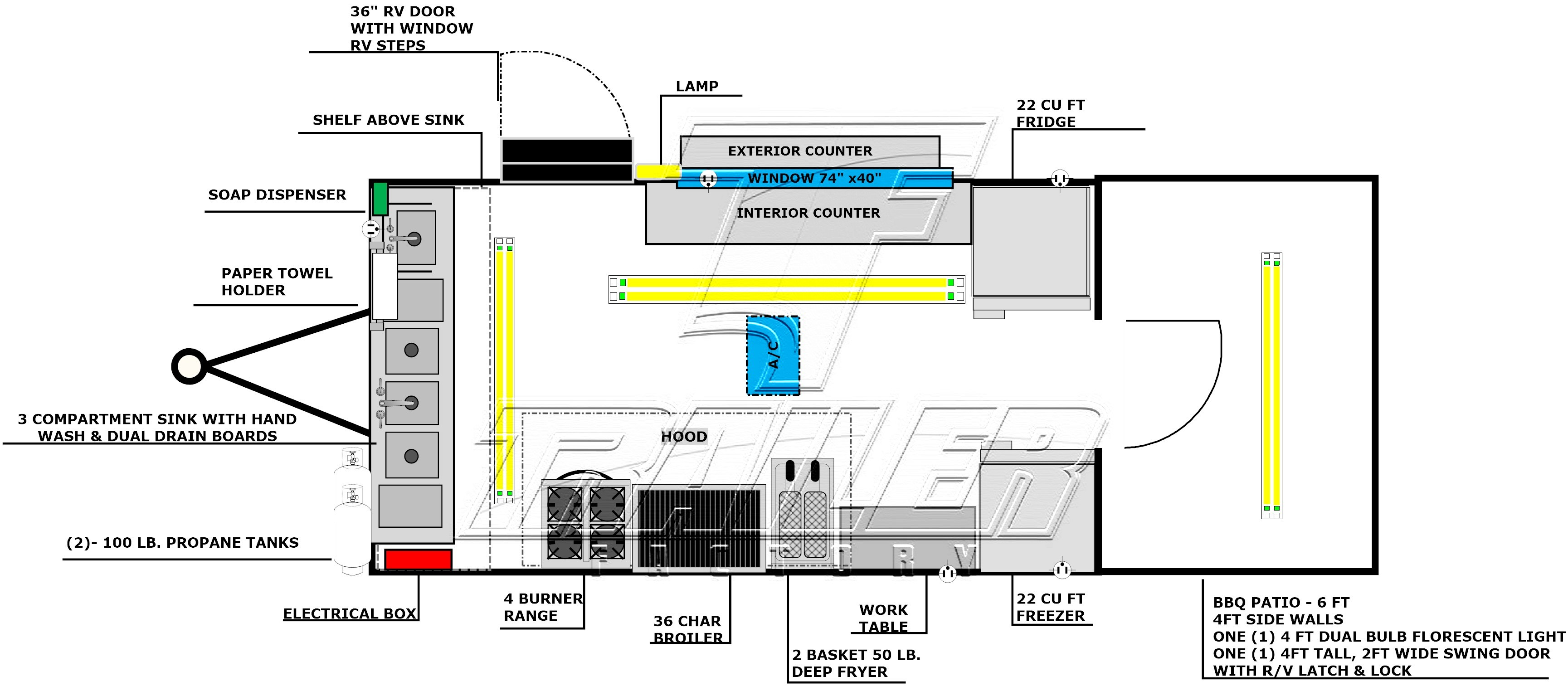 wiring diagram for concession trailer