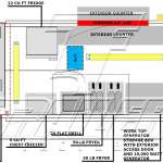 10 X 14 Food Truck Floorplan And Specifications