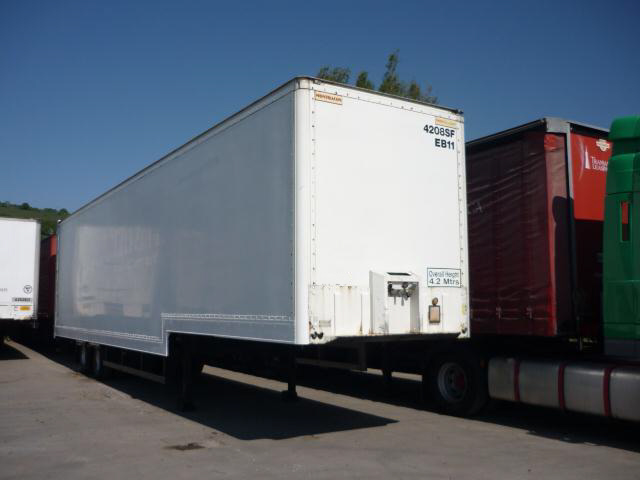 136Mtr TANDEM AXLE GRP STEPFRAME BOX TRAILER FOR SALE