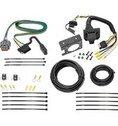 7 way rv trailer wiring for 05 17 nissan frontier 05 15 xterra 05 07 pathfinder  [ 1000 x 1000 Pixel ]