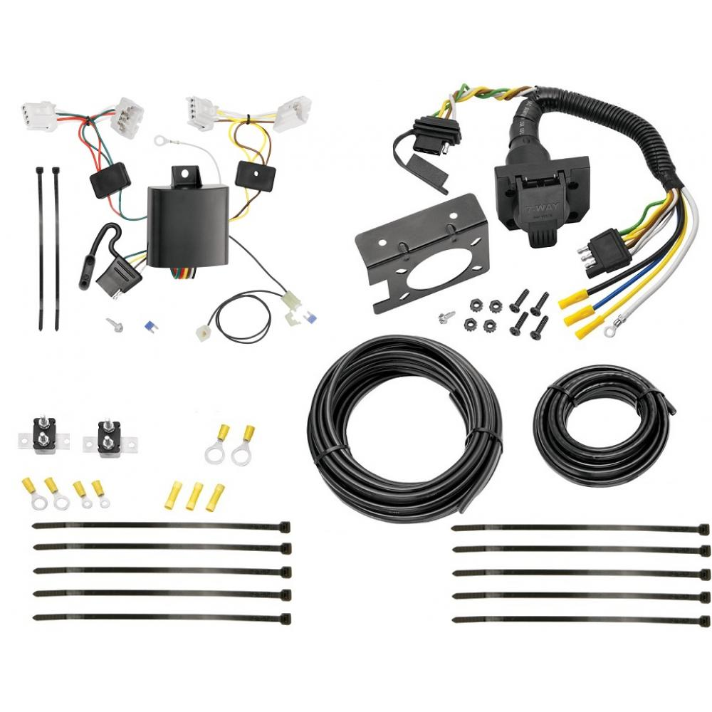 hight resolution of 7 way rv trailer wiring for 09 14 nissan murano plug prong pin brake control ready
