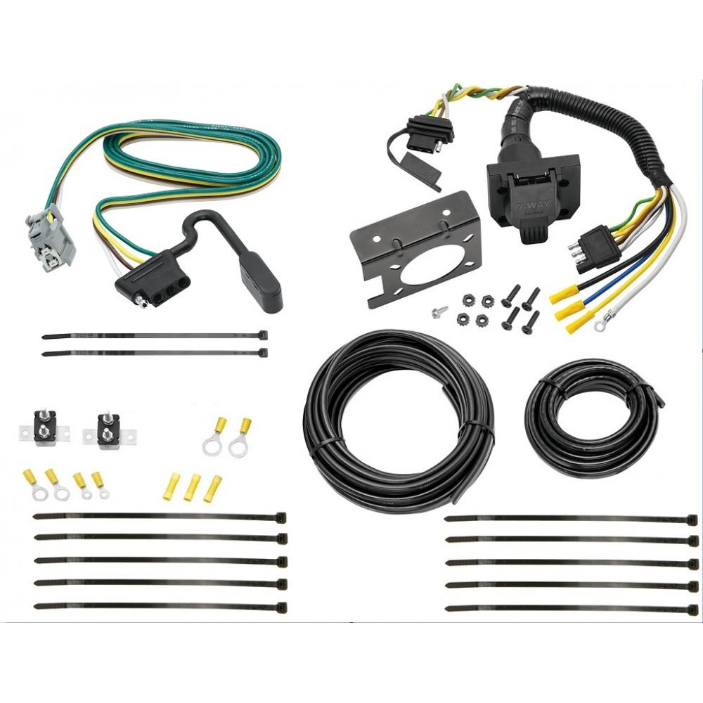 hight resolution of 10 17 chevy equinox gmc terrain w factory tow pkg 7 way rv trailer wiring plug