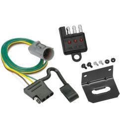 trailer wiring and bracket and light tester for 95 01 ford explorer 98 99 ranger w factory tow package  [ 1000 x 1000 Pixel ]