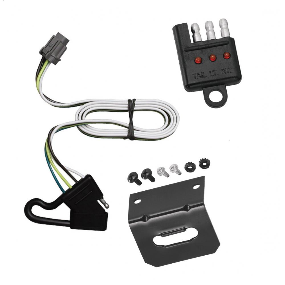 hight resolution of trailer wiring and bracket and light tester for 00 04 nissan xterra w factory tow package