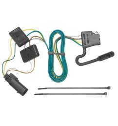 trailer wiring harness kit for 08 12 ford escape 08 11 mazda tribute mariner [ 1000 x 1000 Pixel ]