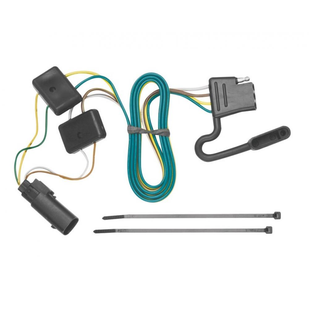 hight resolution of trailer wiring harness kit for 08 12 ford escape 08 11 mazda tribute mariner