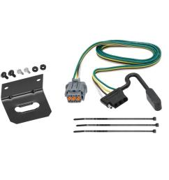 trailer wiring and bracket for 05 17 nissan frontier 05 07 pathfinder 05 15 xterra  [ 1000 x 1000 Pixel ]
