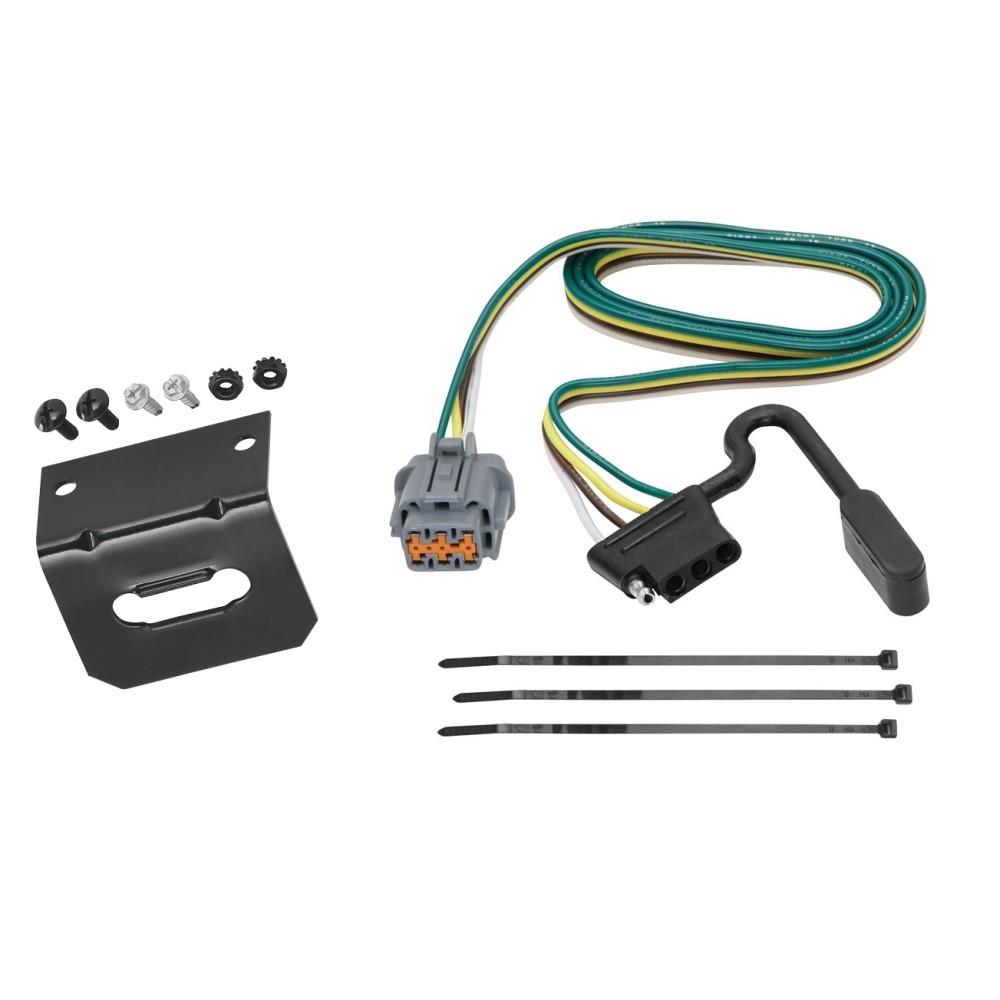 medium resolution of trailer wiring and bracket for 05 17 nissan frontier 05 07 pathfinder 05 15 xterra