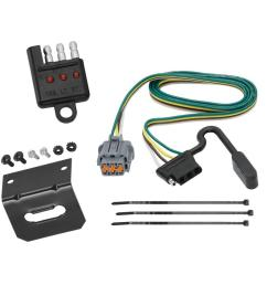 trailer wiring and bracket and light tester for 05 17 nissan frontier 05 07 pathfinder  [ 1000 x 1000 Pixel ]