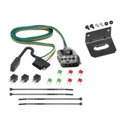 trailer wiring and bracket for 2018 traverse limited 13 17 chevy traverse buick enclave gmc acadia  [ 1000 x 1000 Pixel ]