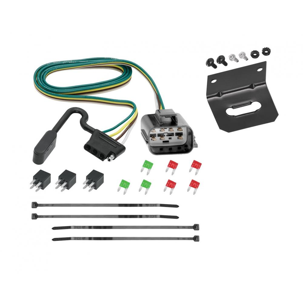 medium resolution of trailer wiring and bracket for 2018 traverse limited 13 17 chevy traverse buick enclave gmc acadia