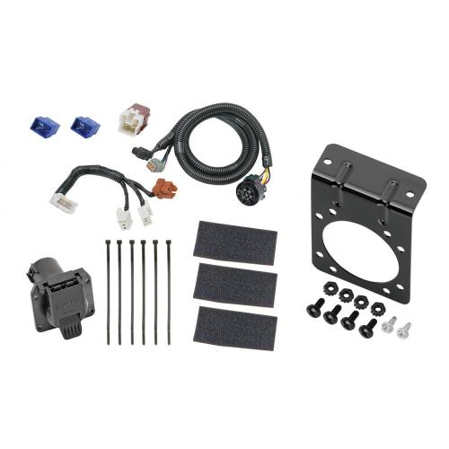 small resolution of 7 way rv trailer wiring harness w mounting bracket for 05 19 nissan frontier 05 12