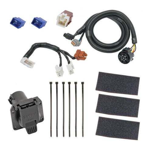 small resolution of 7 way rv trailer wiring harness kit for 05 19 nissan frontier 05 12