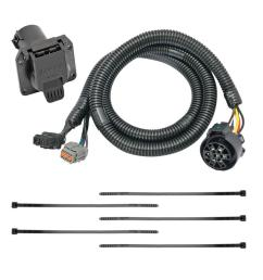 7 way rv trailer wiring harness kit for 05 18 nissan frontier 05 12 pathfinder  [ 1000 x 1000 Pixel ]