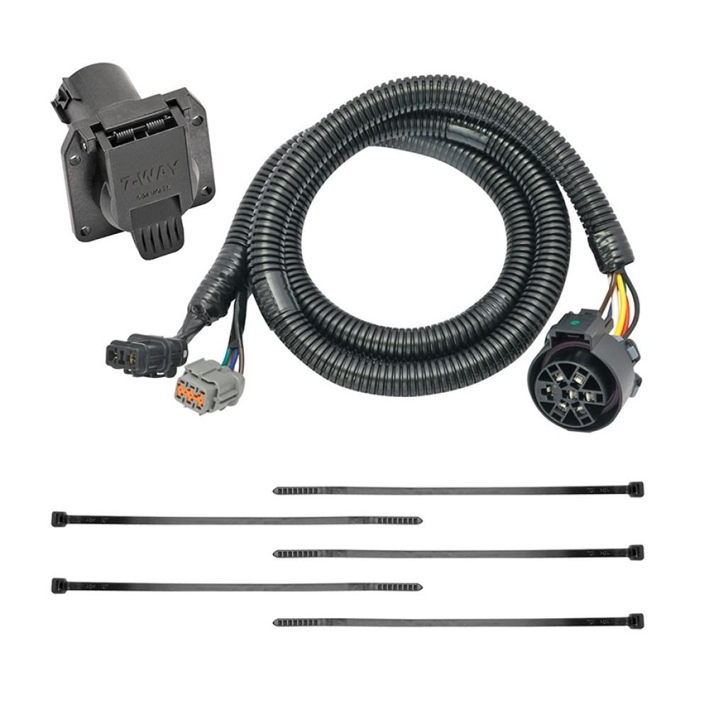medium resolution of 7 way rv trailer wiring harness kit for 05 18 nissan frontier 05 12 pathfinder