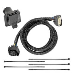 7 way rv trailer wiring harness kit for 18 19 buick enclave chevy traverse [ 1000 x 1000 Pixel ]