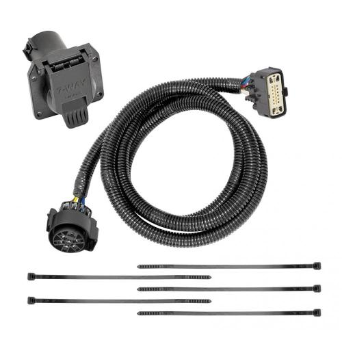 small resolution of 7 way rv trailer wiring harness kit for 18 19 buick enclave chevy traverse