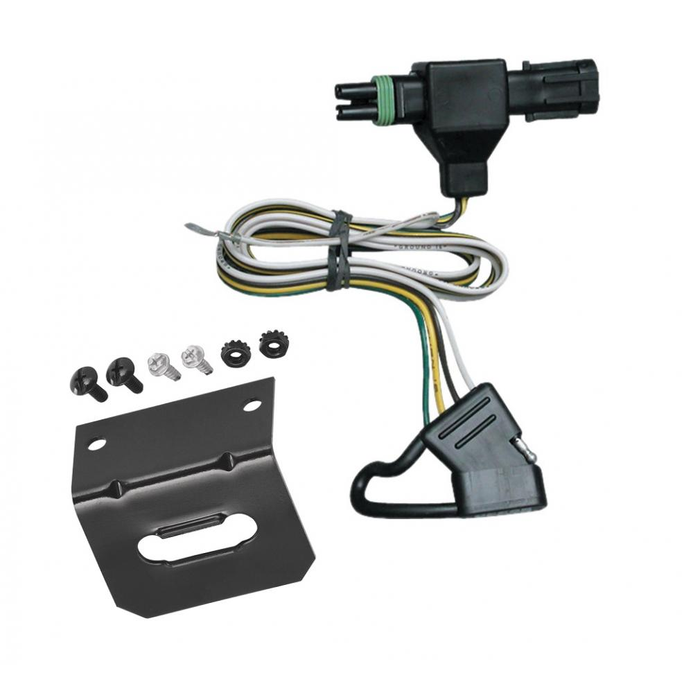 hight resolution of trailer wiring and bracket for 85 91 chevy blazer suburban gmc jimmy c k pickup